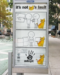 Cat Shelter Sign