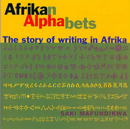 Cover for African Alphabets by Saki Mafundikwa