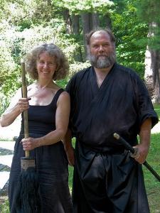 Barbara Bash and Bob WIng: Big Brush and Sword