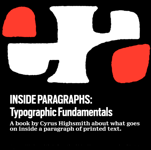 "Book cover for ""Inside Paragraphs"" by Cyrus Highsmith"