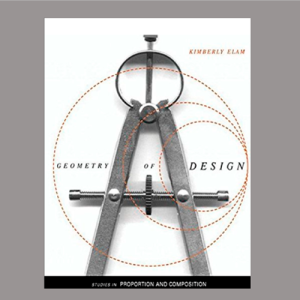 "Book cover for ""Geometry of Design"" by Kimberly Elam"