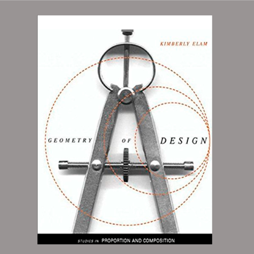 """Book cover for """"Geometry of Design"""" by Kimberly Elam"""